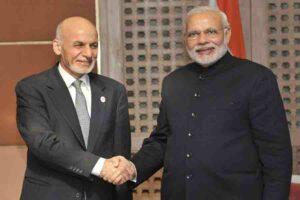 अशरफ गनी और भारत