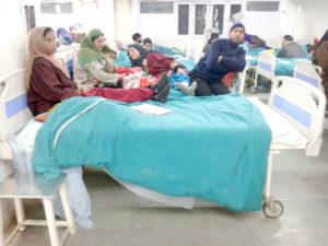कश्मीर में बाढ़ के समय सहयोग