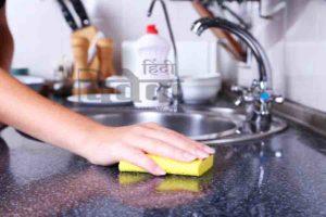 किचन को बनाएं बैक्टीरिया फ्री….