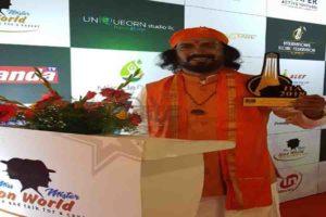 सद्गुरू डॉ. मंगेशदा 'इंटरनॅशनल आयकॉनिक अवॉर्ड से हुए सम्मानित