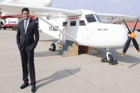 हवाई जहाज भारत में  निर्मित करना मेरा सपना- कैप्टन अमोल यादव