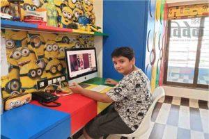 चत्रभुज नरसी स्कूल के विद्यार्थी ने बनाए विज्ञान पर वीडियो