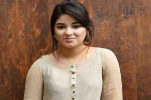 जायरा वसीम को गुमराह किया बदमिजा जी दीनी बंदो ने