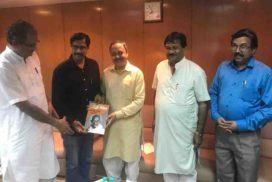 रा. स्व. संघ के अ. भा. सेवा प्रमुख श्री पराग अभ्यंकर जी और मध्य प्रदेश के पूर्व कैबिनेट मंत्री श्री प्रदीप पांडे जी से शिष्टाचार भेंट