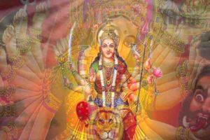 प्रकृति की ऊर्जा का प्रतीक हैं, देवी दुर्गा