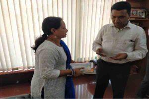 कार्यकारी सम्पादक श्रीमती पल्लवी अनवेकर ने की गोवा के मुख्यमंत्री श्री प्रमोद सावंत जी से भेंट