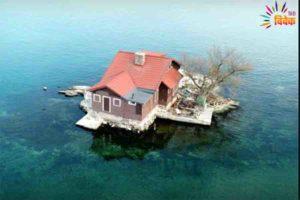 दुनिया के सबसे छोटे इस आइलैंड पर है सिर्फ एक घर और एक पेड़!