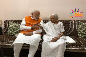 पीएम केयर फण्ड: मोदी की मां हीराबेन ने भी दिया दान