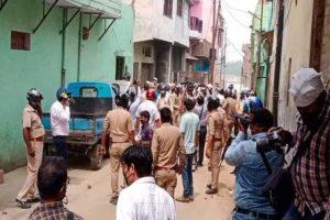 मुरादाबाद में स्वास्थ्य और पुलिस टीम पर पथराव, मुख्यमंत्री ने जताई नाराजगी