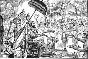 छत्रपति शिवाजी राज्याभिषेक हुआ