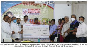 पितांबरी की ओर से अयोध्या श्रीराममंदिर के लिए आर्थिक दान