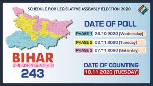Bihar Elections Schedule