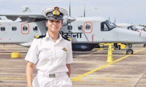 women pilot shivangi singh