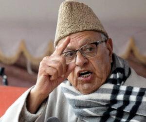 नजरबंदी में रहकर भी नहीं सुधरे फारुख अब्दुल्ला