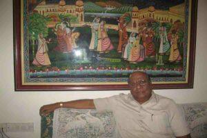 समाज मन्दिर में रमने वाले जे.सी.जैन