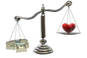 पैसा और प्यार