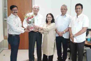 उद्योगपति मा. श्री रज्जुभाई श्रॉफ जी को भारत सरकार की ओर से पद्मविभूषण से सम्मानित करने की घोषणा