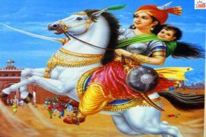 वर्तमान संदर्भ में झांसी की रानी का चरित्र