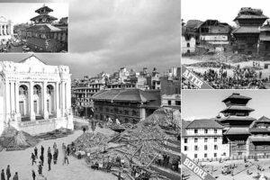 नेपाल में महाभूकम्प संघ स्वयंसेवकों का बेमिसाल राहत कार्य