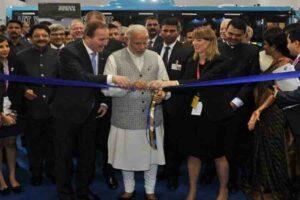 भारत की औद्योगिक क्षमताओं का दर्शन