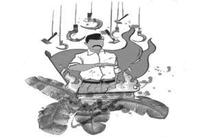 संघ का सेवाकार्य और कम्युनिस्टों का हिंसाचार